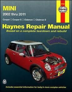 hayes car manuals 2011 mini cooper on board diagnostic system mini cooper shop manual service repair book clubman s haynes workshop chilton gt ebay