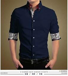 baju kemeja pria lengan panjang slim fit keren terbaru ryn fashion