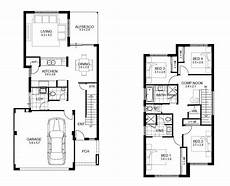 small double storey house plans two storey home designs apg homes narrow house plans
