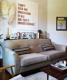 Regal Hinter Sofa Living Room Wohnzimmer Bunt