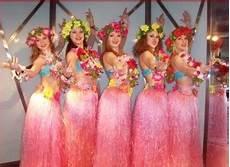 hawaii kostüm selber machen stroje hawajskie kwiaty hawajskie