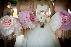 diy giant paper flower bouquets weddingbee photo gallery