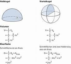 volumen und oberfl 228 chenberechnung