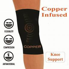 copper leg sleeve copper comfort copper infused knee compression sleeve