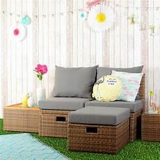 Balkon Lounge Moebel - loungem 246 bel set f 252 r balkon und garten aus polyrattan
