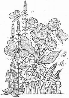 butterflies and bees coloring page favecrafts