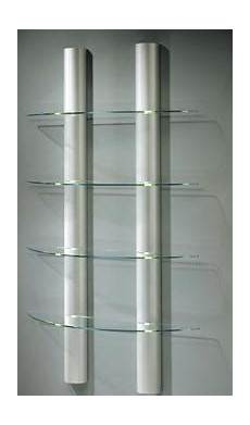 Wandregal Aus Glas - wandregal mit halbrunden beleuchteten aluminiums 228 ulen mit