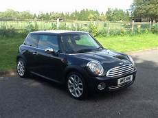 2008 58 Mini Cooper In Black With Lounge Leather