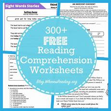 20 websites for free reading comprehension worksheets