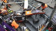 Macau Grand Prix Crash Formula 3 Floersch Race