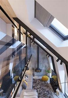 attic conversion creates a warm contemporary home with