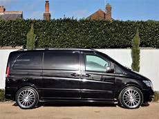 used obsidian black mercedes viano for sale dorset