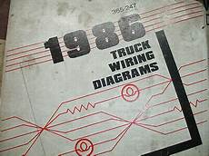 1986 ford ranger wiring diagram 1986 ford bronco 2 ii ranger electrical wiring diagrams service schematic manual ebay