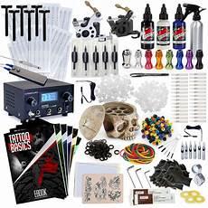complete professional tattoo gun kit machine equipment