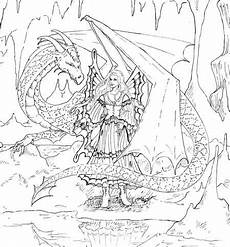 coloring pages dragons and fairies 16609 and dairy dessin noir et blanc coloriage f 233 e coloriage