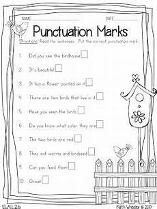 punctuation marks worksheet for grade 4 20974 back with printables grade writing 1st grade writing classroom writing