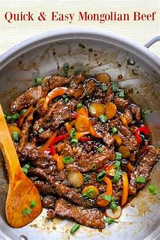 mongolian beef a quick easy recipe for a take out favourite at home