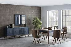 esszimmer set esszimmer set mit sideboard 8 teilig boston blue