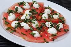 Wassermelone Mit Mozzarella Ulkig Chefkoch