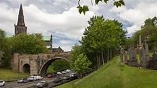 brücke für teich glasgow necropolis die schottische stadt der toten