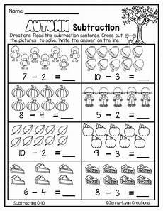 subtraction practice worksheets for kindergarten 10526 fall subtraction thanksgiving 1st grade math worksheets kindergarten addition worksheets
