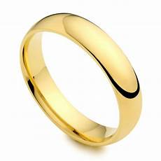 18ct yellow gold 4mm wedding ring austen jewellers