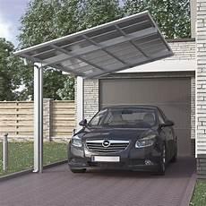 Carport Aluminium Bausatz - aluminium carport bausatz einzelcarport freistehend edel