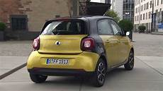 smart forfour prime black to yellow black design