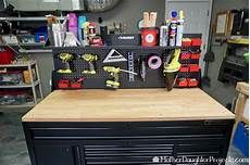 mobile garage husky mobile tool chest with pegboard