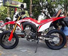Modifikasi Crf 150 by Modifikasi Motor Honda Crf 150 Supermoto Kumpulan Gambar