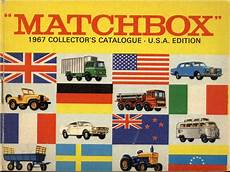 Matchbox Lesney 1967 Catalog Cover Page