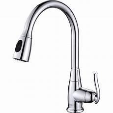 kraus kitchen faucet kraus one handle single kitchen faucet reviews wayfair