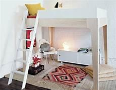lit mezzanine design un lit mezzanine pour gagner de la place joli place