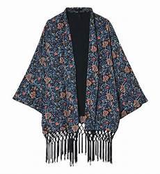 Veste De Kimono En Soie Ikks En Bleu Pour Femme Galeries