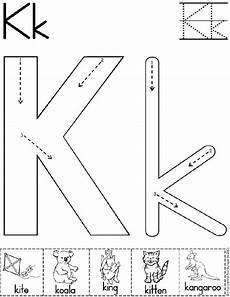 letter k worksheets 23175 78 best images about letter k crafts on preschool letters frog press and