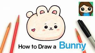 How To Draw A Baby Bunny Rabbit  Anirollz YouTube