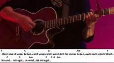 na und ben zucker gitarre tutorial cover akkorde text