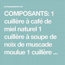 composants 1 cuill 232 re 224 caf 233 de miel naturel 1 cuill 232 re 224