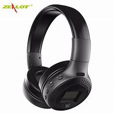 Zealot Bluetooth Earphone Mini Wireless Headphone by Zealot B19 Wireless Headset Bluetooth Headphone With Tf