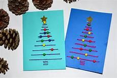 gallerphot weihnachtskarte basteln mit kindern