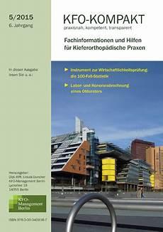 kfo kompakt 5 2015 kfo management berlin