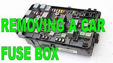 Diy Removing A Car Fuse Box From The Engine Compartment