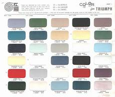 color for triumph color codes pinterest triumph tr3 and triumph spitfire