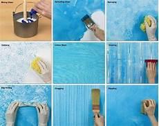 Wand Streichen Ideen Schlafzimmer Selbermachen Effekte