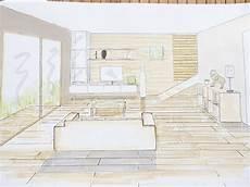 dessin d un salon dessiner un salon en perspective