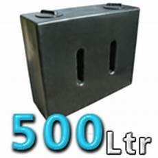 500 litre water tank v1 in black