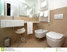 Modern Beige Bathroom Stock Photography Image 24488862