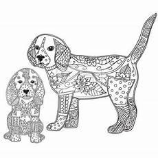 ausmalbilder erwachsene hunde kostenlos zum ausdrucken
