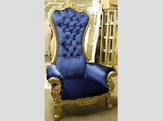 *Throne Chairs & Leather Love Seats   Bklynfavors Event