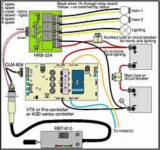 loco wiring control horn relay board 4qd electric motor control